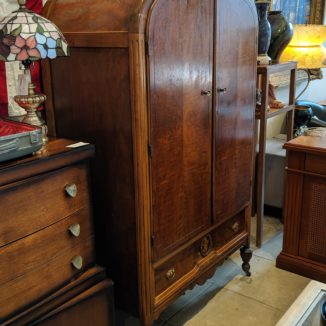 Antique Arched Armoire w/ Drawers
