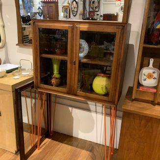 Small Cabinet on Hairpin Legs